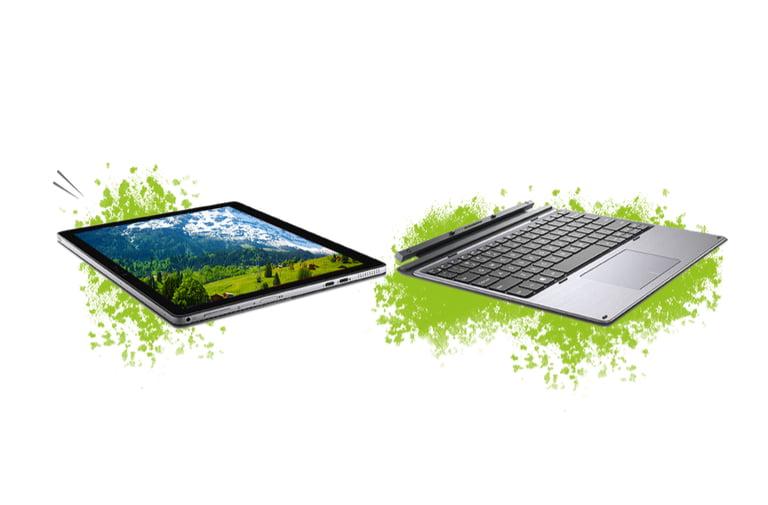 Le Slate Premium permet de séparer l'écran du clavier pour plus de polyvalence et d'ergonomie