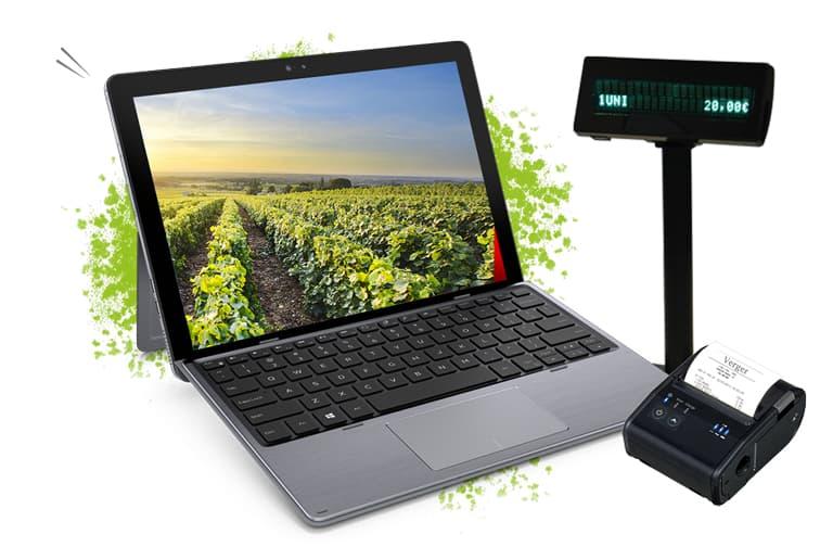isagri technology Terminal point de vente mobile et puissant