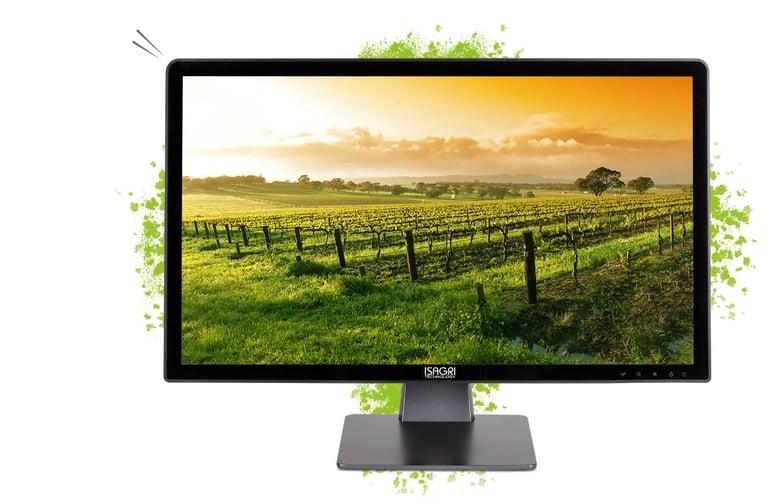 isagri technology fusion 22 ordinateur de bureau tout en un avec un écran confortable