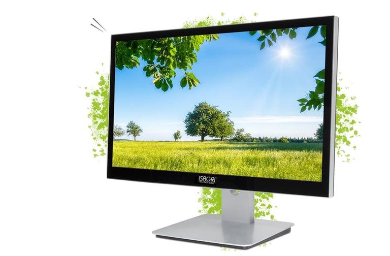 Isagri technology Fusion 24 une solution tout-en-un avec un écran de taille sympa