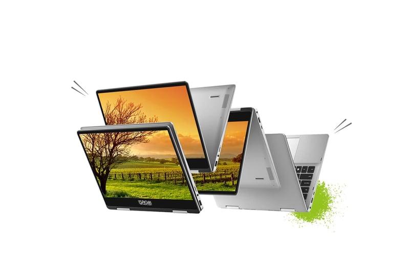 Flex et l'ordinateur portable de la gamme Wallaby le plus polyvalent