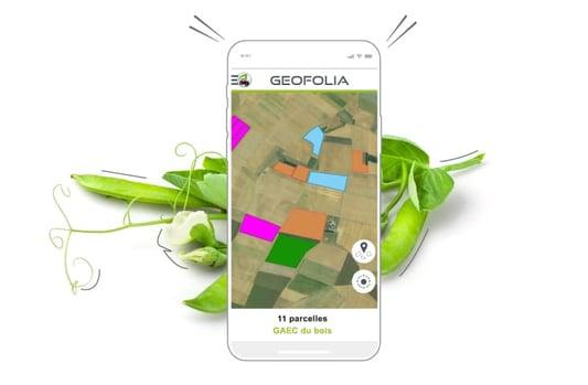 Je gagne du temps pour saisir les interventions faites dans mes parcelles avec ma solution Geofolia