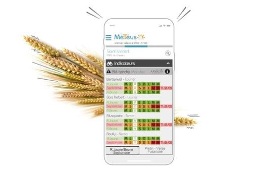 Je sécurise et augmente mon revenu d'agriculteur avec la solution Météus en en traitant moins mais mieux les parcelles de mon exploitation