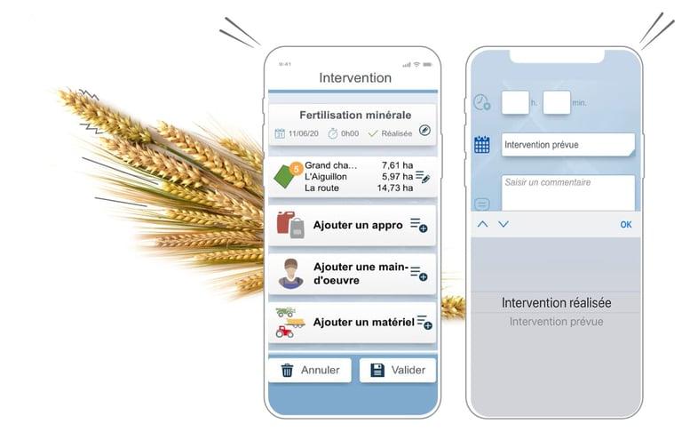 Avec Geofolia ETA, la solution de gestion de parcelles, j'organise les travaux agricoles pour mon entreprise et mes salariées. Ainsi, je gagne du temps et en efficacité